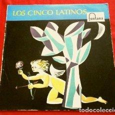 Discos de vinilo: LOS CINCO LATINOS (LP 1958) MARAVILLOSO - SU PRIMER LP (FONTANA-PHILIPS). Lote 252710490