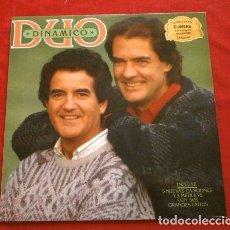 Discos de vinilo: DUO DINAMICO (LP 1986) SUS ANTIGUOS ÉXITOS Y 5 NUEVAS CANCIONES (CBS) MANOLO Y RAMÓN. Lote 252711310