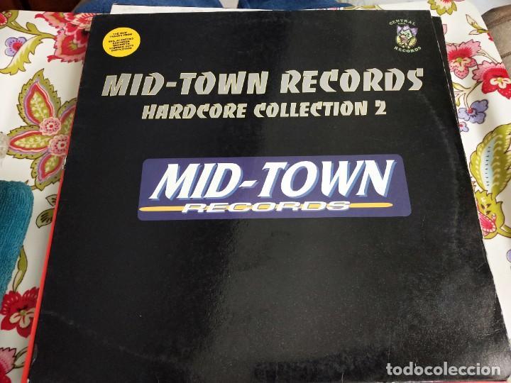 """VARIOUS - MID-TOWN RECORDS HARDCORE COLLECTION 2 (12"""") SELLO:CENTRAL ROCK RECORDS CRMX 18. VG+ / VG+ (Música - Discos de Vinilo - Maxi Singles - Punk - Hard Core)"""