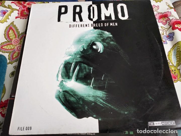 """PROMO - PROMOFILE CLASSIC 009 - DIFFERENT BREED OF MAN (12"""", RE) SELLO:THE THIRD MOVEMENT . VG / VG+ (Música - Discos de Vinilo - Maxi Singles - Punk - Hard Core)"""