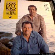 Discos de vinilo: LOS DEL RIO - MACARENA MAXI SINGLE SPAIN 1993. Lote 252715440