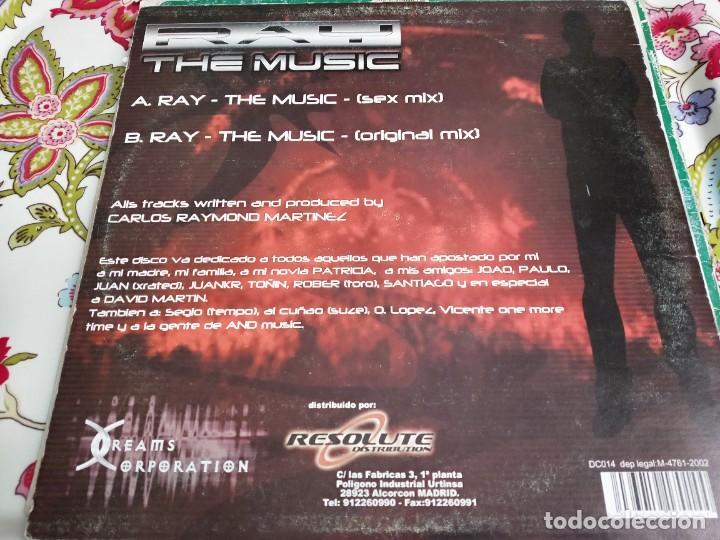 "Discos de vinilo: DJ Ray (3) - The Music (12"") Sello:Dreams Corporation Cat. nº: DC014. VG+ / VG - Foto 2 - 252715550"