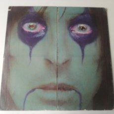 Discos de vinilo: ALICE COOPER LP FROM THE INSIDE 1978 USA PRESS CARPETA TROQUELADA VG. Lote 252735720