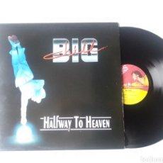 Discos de vinilo: BIG CHILD LP HALFWAY TO HEAVEN + ENCARTE 1992 VG+ MUSIC FOR NATIONS. Lote 252735945