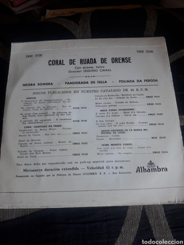 Discos de vinilo: Antiguo vinilo, Coral de Ruada de Orense, a estrenar - Foto 2 - 252772475