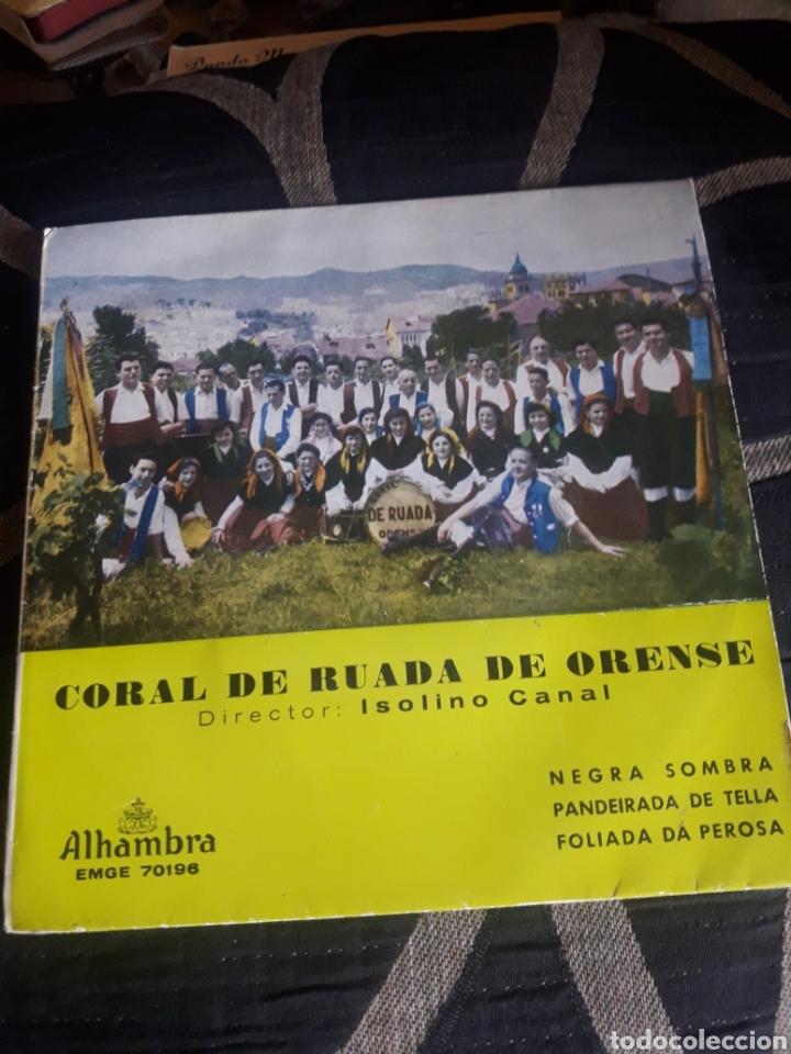 ANTIGUO VINILO, CORAL DE RUADA DE ORENSE, A ESTRENAR (Música - Discos de Vinilo - Maxi Singles - Country y Folk)
