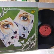 Discos de vinilo: EPS 33 1/3-DR HOOK- SOMETIMES YOU WIN EN FUNDA ORIGINAL 1983. Lote 252780785