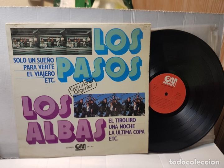 LP -LOS PASOS Y LOS ALBAS- GRABACIONES ORIGINALES EN FUNDA ORIGINAL 1978 (Música - Discos - LP Vinilo - Grupos Españoles de los 70 y 80)