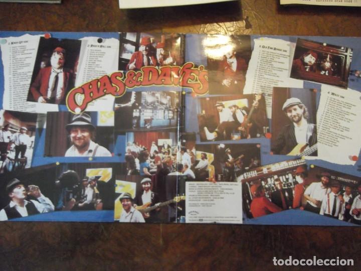 Discos de vinilo: Doble DISCO LP CHAS & DAVE´S Con 100 temas / 2 records-set Incluye libro temas Rockney Records 1985 - Foto 2 - 252788090