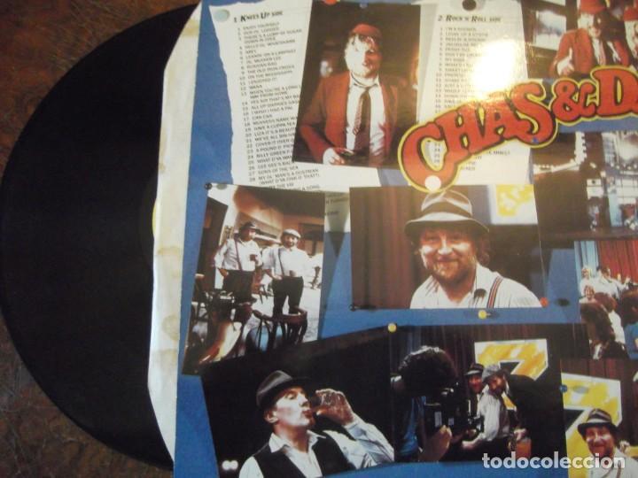 Discos de vinilo: Doble DISCO LP CHAS & DAVE´S Con 100 temas / 2 records-set Incluye libro temas Rockney Records 1985 - Foto 3 - 252788090