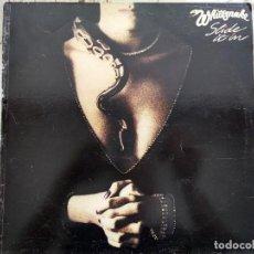 Disques de vinyle: WHITESNAKE. SLIDE IT IN. SPAIN 1984.. Lote 252793270