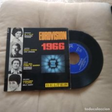 Discos de vinilo: EUROVISION 66 / MAGDALENA IGLESIAS-UDO JURGENS-DOMENICO MODUGNO -MILLY SCOTT / BLTER 1966. Lote 252804275