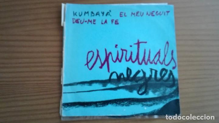 KUMBAYÀ ESPIRITUALS NEGRES EP ALS 4 VENTS 1967 + 2 (Música - Discos de Vinilo - EPs - Funk, Soul y Black Music)