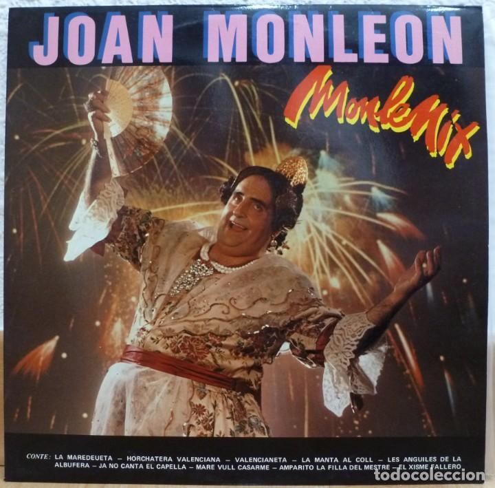 JOAN MONLEON - MONLEMIX (LP XIRIVELLA 1987) (Música - Discos de Vinilo - Maxi Singles - Solistas Españoles de los 70 a la actualidad)
