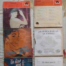 Discos de vinilo: ORQUESTAS AÑOS 50-60 SINGLES, SENCILLOS Y EPS. Lote 252812530