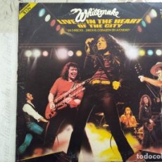 Disques de vinyle: WHITESNAKE. LIVE IN THE HEART OF THE CITY. DOBLE LP SPAIN 81.. Lote 252819930