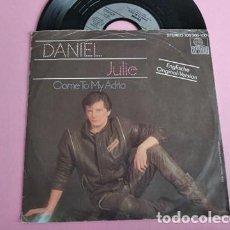 Discos de vinilo: DANIEL - JULIE - EUROVISION 1983. Lote 252820375
