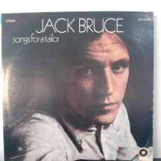 Discos de vinilo: JACK BRUCE. SONGS FOR A TAILOR. ATXO. SD 33-306. 1969. US.. Lote 252827890