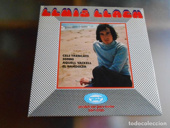 LLUIS LLACH, EP, CELS TRENCATS + 3, AÑO 1970 (Música - Discos de Vinilo - EPs - Solistas Españoles de los 70 a la actualidad)
