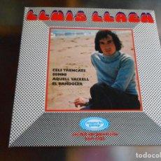 Discos de vinilo: LLUIS LLACH, EP, CELS TRENCATS + 3, AÑO 1970. Lote 252831905