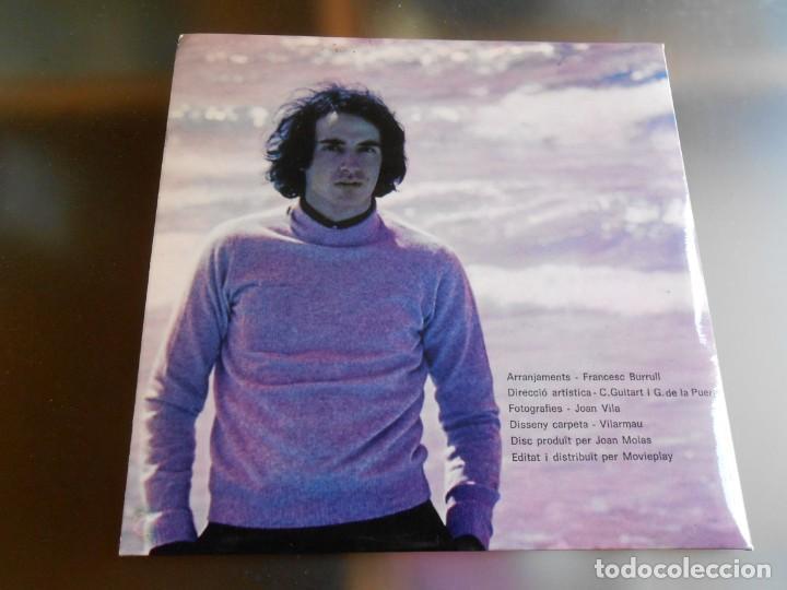 Discos de vinilo: LLUIS LLACH, EP, CELS TRENCATS + 3, AÑO 1970 - Foto 4 - 252831905