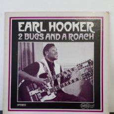 Disques de vinyle: IMPOSIBLE!! EARL HOOKER. TWO BUGS AND A ROACH. ARHHOOLIE. US. 1969.1044. Lote 252835490