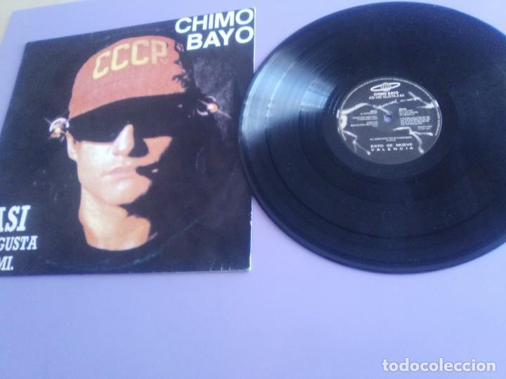 CHIMO BAYO. - ASI ME GUSTA A MI. DIRECTO - ESTO SE MUEVE VALENCIA - LP. TDKDA34 (Música - Discos - LP Vinilo - Electrónica, Avantgarde y Experimental)