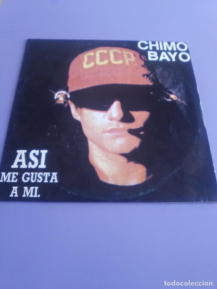 Discos de vinilo: CHIMO BAYO. - ASI ME GUSTA A MI. DIRECTO - ESTO SE MUEVE VALENCIA - LP. TDKDA34 - Foto 2 - 252844805