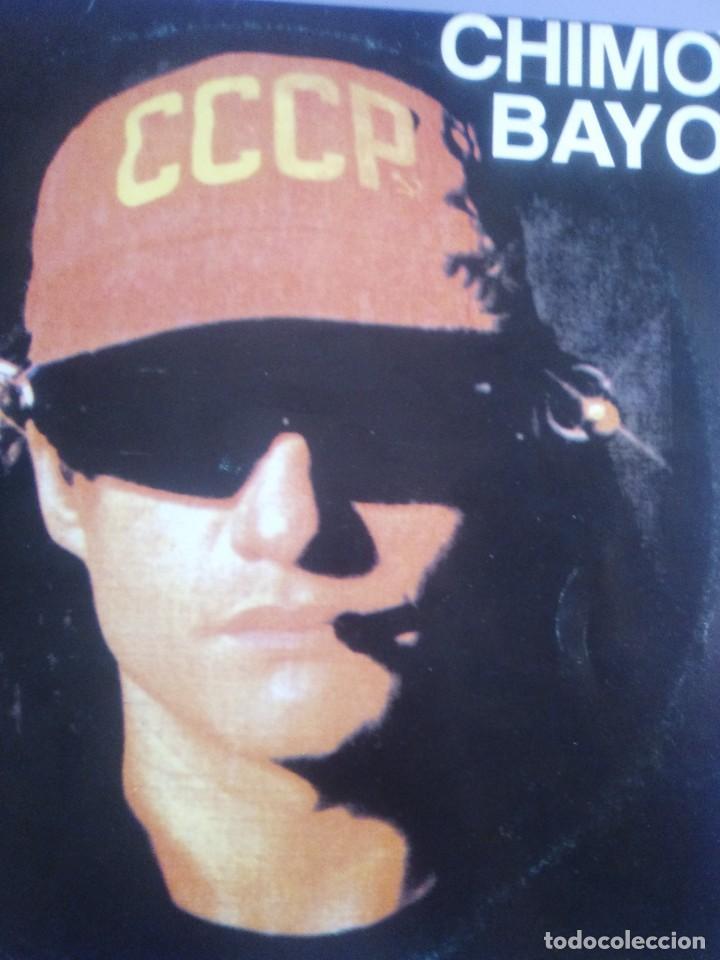 Discos de vinilo: CHIMO BAYO. - ASI ME GUSTA A MI. DIRECTO - ESTO SE MUEVE VALENCIA - LP. TDKDA34 - Foto 3 - 252844805
