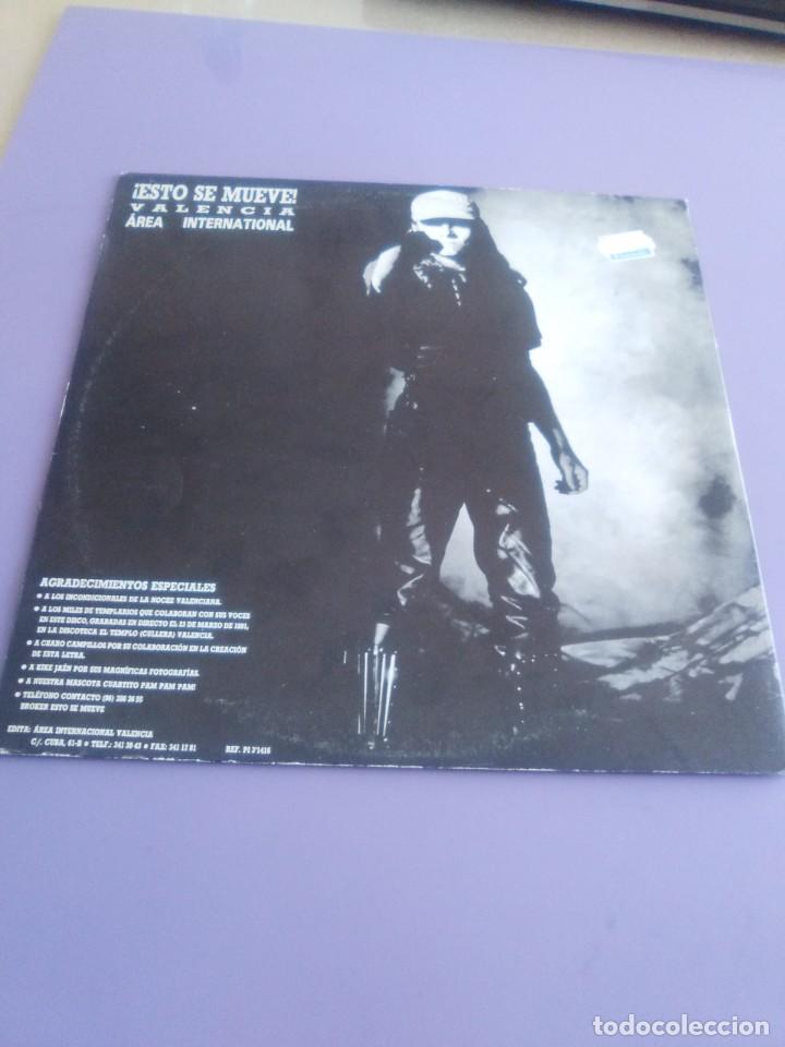 Discos de vinilo: CHIMO BAYO. - ASI ME GUSTA A MI. DIRECTO - ESTO SE MUEVE VALENCIA - LP. TDKDA34 - Foto 4 - 252844805