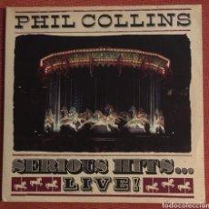 Discos de vinilo: VINILO, SERIOUS HITS - LIVE, PHIL COLLINS. Lote 252847085
