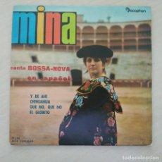 Discos de vinilo: MINA - CANTA BOSSA-NOVA EN ESPAÑOL - Y DE AHI +3 / EP DISCOPHON 1962 SPAIN MUY BUEN ESTADO. Lote 287809578