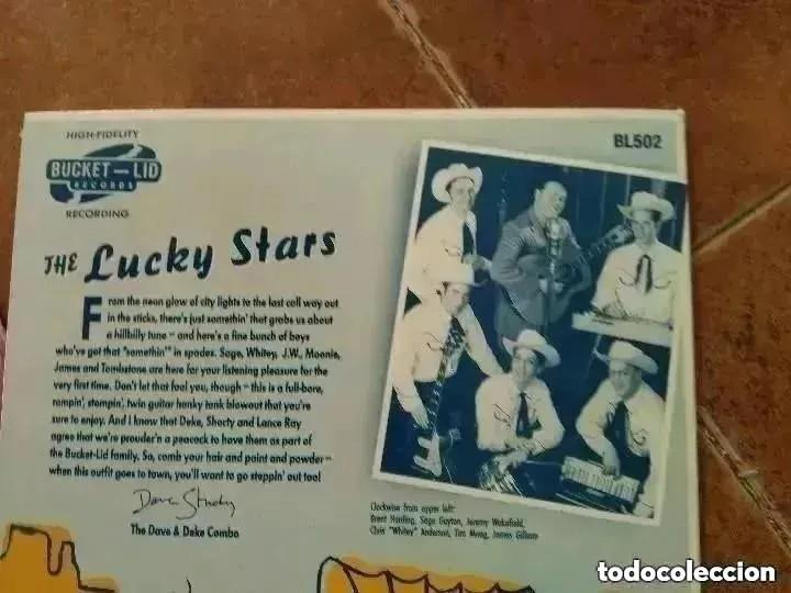 Discos de vinilo: LUCKY STARS - LOOK WHAT THE CAT DRAGGED IN + 3 (EP) - Foto 2 - 252861000