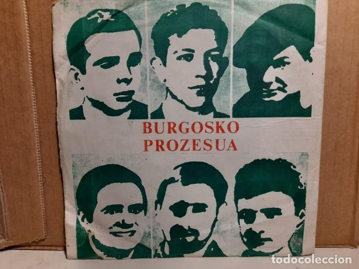 SINGLE CLANDESTINO FRANCES : BURGOSKO PROZESUA ( EL PROCESO DE BURGOS) (Música - Discos - Singles Vinilo - Otros estilos)