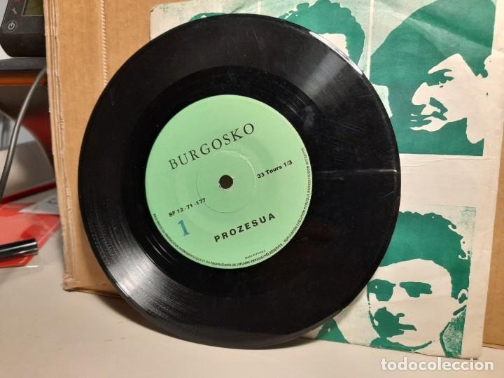 Discos de vinilo: SINGLE CLANDESTINO FRANCES : BURGOSKO PROZESUA ( EL PROCESO DE BURGOS) - Foto 3 - 252864525