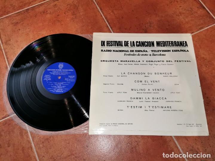Discos de vinilo: IX FESTIVAL DE LA CANCION MEDITERRANEA SALOME BETINA GUY MARDEL DOVA LP VINILO RNE / RTVE 1967 RARO - Foto 2 - 252896445