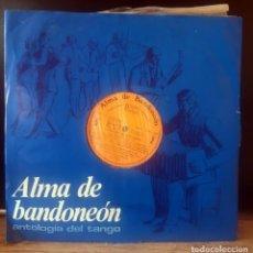 Discos de vinilo: ALMA DE BANDONEON - ANTOLOGIA DEL TANGO - LP DEL SELLO RCA PARA SELECCIONES DEL AÑO 1.969. Lote 252911580