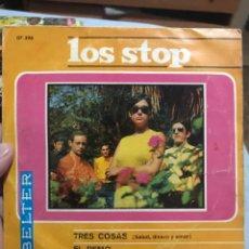 Discos de vinilo: LOS STOP . SALUD,DINERO Y AMOR ETC BELTER 1967 ESTADO 9,5 !. Lote 252949160