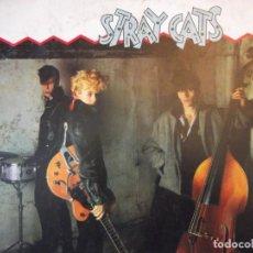 Disques de vinyle: LP PARA AMANTES DEL MEJOR ROCK . GRUPO STRAY CATS CON 12 TEMAS ARISTA RECORDS 1981. Lote 252954010