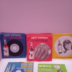 Disques de vinyle: LOTE 27 DISCOS EP. DISCO SORPRESA FUNDADOR.. Lote 252959275