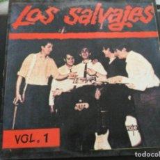 Discos de vinilo: LOS SALVAJES - VOL.1. Lote 252966815