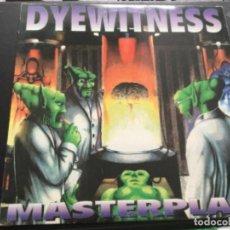 Discos de vinilo: DYEWITNESS BEING MISCHA VD HEIDEN- MASTERPLAN. Lote 252970640