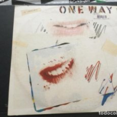 Discos de vinilo: ONE WAY - LETS TALK. Lote 252972735