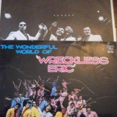 "Disques de vinyle: LP THE WONDERFUL WORLD OF ""WRECKESS ERIC "" 10 TEMAS MUY BUENOS ! COLUMBIA 1978. Lote 252974750"