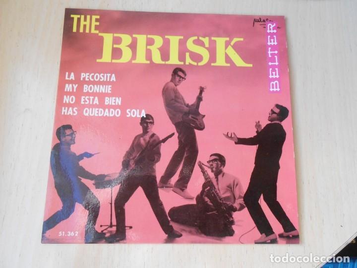 BRISK, THE, EP, MY BONNIE + 3, AÑO 1964 (Música - Discos de Vinilo - EPs - Grupos Españoles 50 y 60)