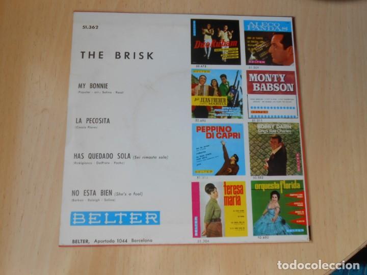 Discos de vinilo: BRISK, THE, EP, MY BONNIE + 3, AÑO 1964 - Foto 2 - 252985845