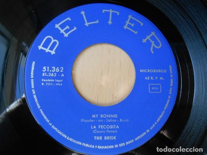 Discos de vinilo: BRISK, THE, EP, MY BONNIE + 3, AÑO 1964 - Foto 3 - 252985845