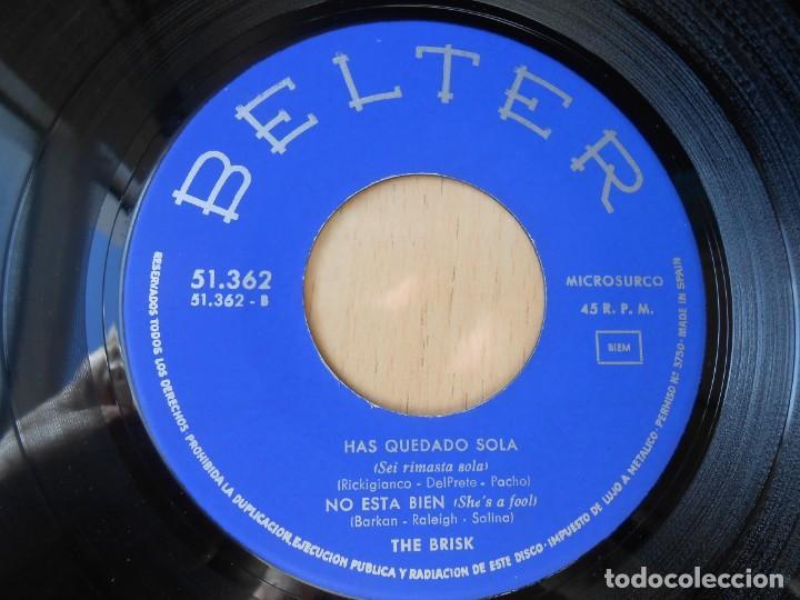 Discos de vinilo: BRISK, THE, EP, MY BONNIE + 3, AÑO 1964 - Foto 4 - 252985845