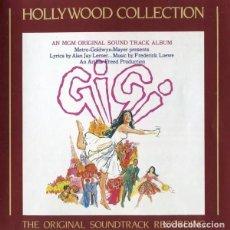 Discos de vinilo: HOLLYWOOD COLLECTION * LP VINILO + POSTER GIGANTE * ORIGINAL SOUNDTRACK * GIGI. Lote 252989160