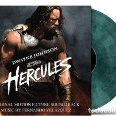 Discos de vinilo: HERCULES * BSO * 2LP 180G COLOR AZUL Y NEGRO TRANSPARENTE AHUMADO!! NUMERADO * MUSIC ON VINYL. Lote 252998120